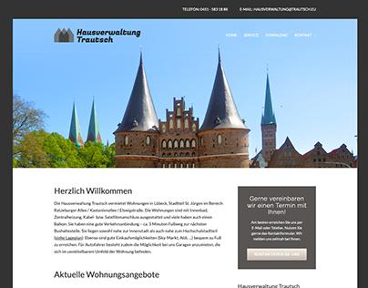 Internetseite Hausverwaltung