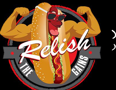 Relish the Gains Logo Design