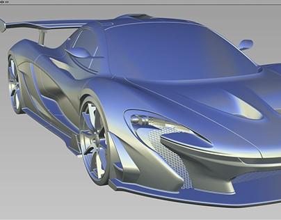 Alias & Vred ——McLaren-P1-GTR