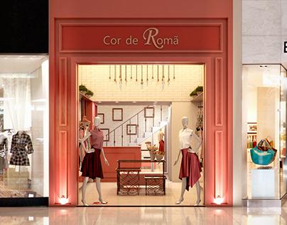 Cor de Romã - Ilustração 3D - por Vera Miranda