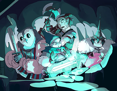 Magic Sword - illustration