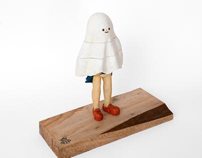 Little Ghost Sculpture