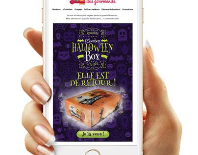 Création de newsletters pour le site www.123bonbon.com
