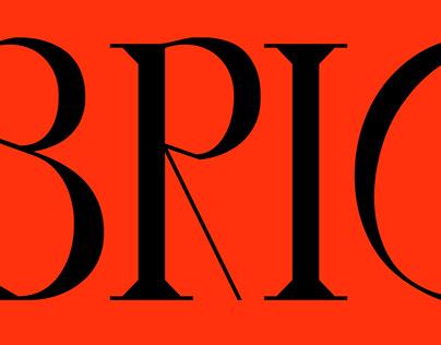 Equilibrio. Type design (WIP)