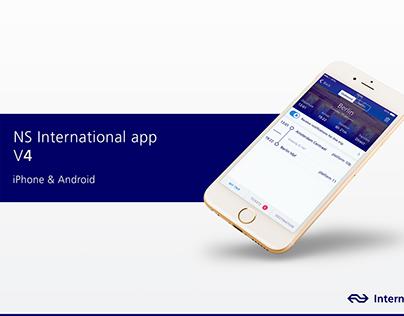 NS International train & transport app (iOS & Android)