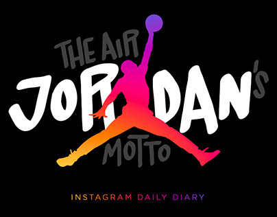The Air Jordan's motto