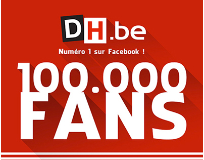 Facebook Fans infographie DH.be