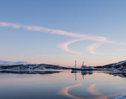 Tromsö (No) im Winter