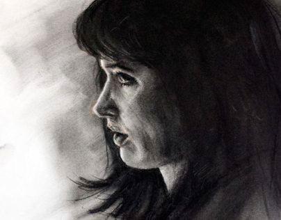 Portrait in Charcoal 2