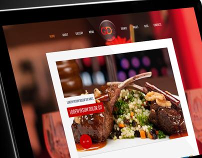 QD'S Restaurant Website