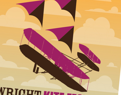 Wright Kite Festival Poster Design