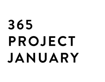 365 Lettering Project (January)