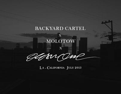 OESU x BACKYARD CARTEL   | LA