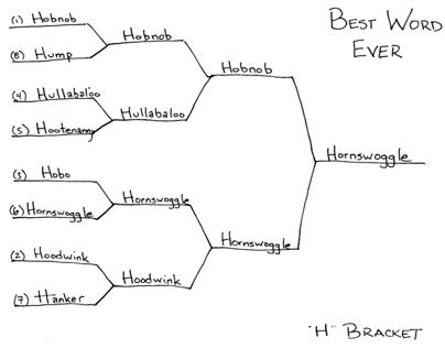 """Best Word Ever: """"H"""" Bracket"""