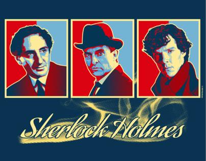 Tee Designs / Prints The #Sherlock Trilogy