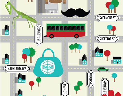 Indianapolis Monthly Maps