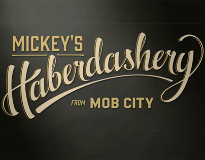 """Mob City"" Custom Fabrication / Pop-Up Store Displays"