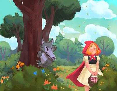 Chapeuzinho Vermelho - livro infantil