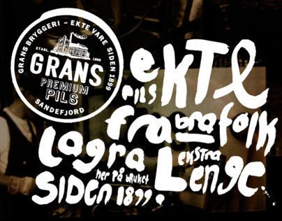 Grans Brewery – concept/identity/packaging