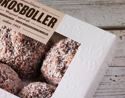United Bakeries – Kokos- og sjokoladeboller, packaging