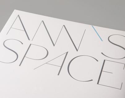 ANN's SPACE Identity & interior design book