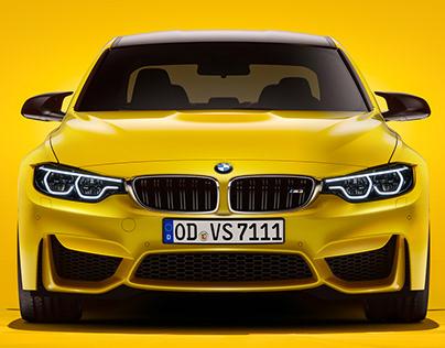 BMW M3 Sedan | CGI