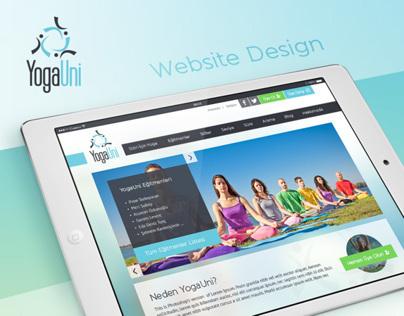YogaUni Website Design