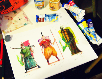 Colorful Sketches