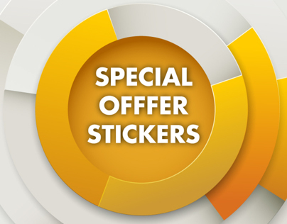 Stickers (Promotional Offer)