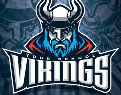 Viking Mascot Branding