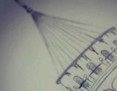 Galata pencil drawing
