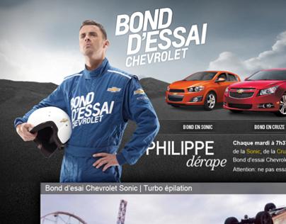 Bond d'essai Chevrolet