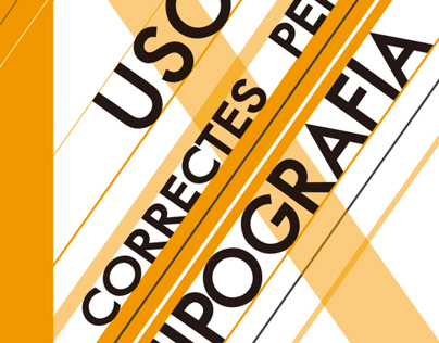 Small Magazine: 'Correct Uses of typography'