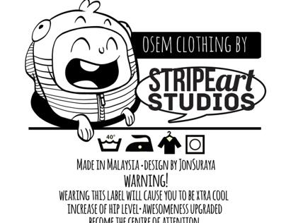 T-Shirt design by StripeArt Studios