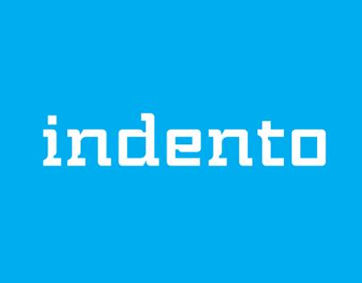 Indento™ typeface