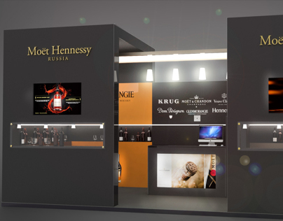 MOET expo stand