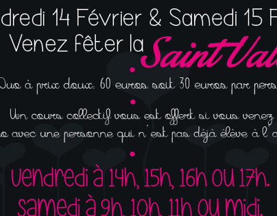 Flyer Version 2 - Valentine's Day