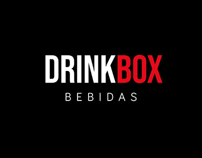 DRINK BOX - Isologotipo y Flyers Digitales