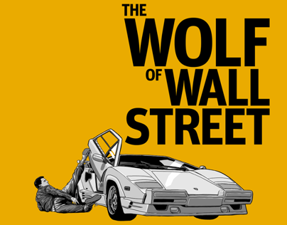 THE WOLF of WALL STREET - Tribute Artwork
