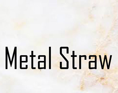 Metal Straw Designs