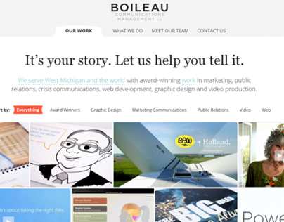 Boileau Communications Website