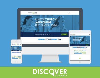 Discover Life Church | Church Plant Design & Website