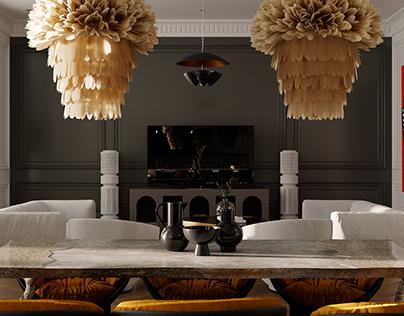 Eclectic interior pt/2