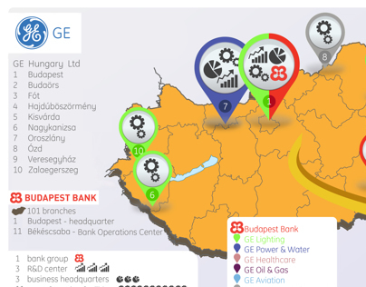 info graphics ◆ Hungary map for GE