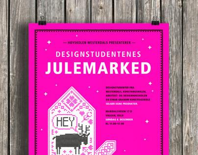 Designstudentenes Julemarked