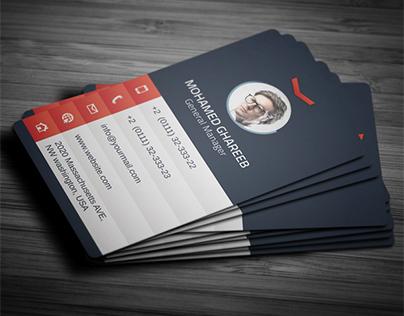 Creative Corporate Business Card 29