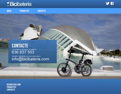 Bicibateria.com Website