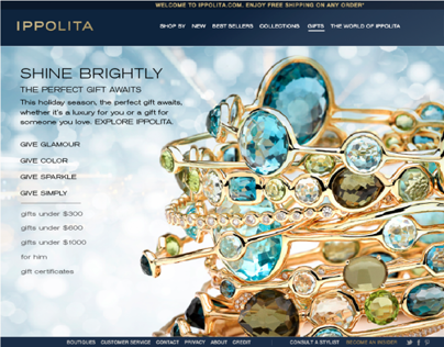 Ippolita Holiday Web Assets