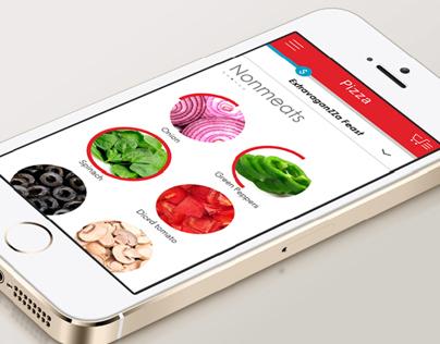 Domino's Pizza UI Redesign