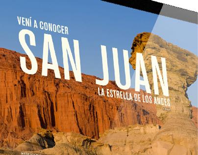 Website Turismo Provincia de San Juan